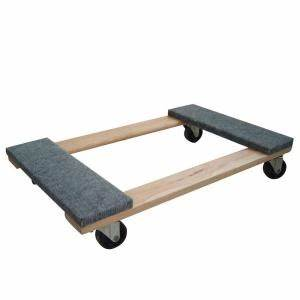 Buffalo tools 1000 lb capacity furniture dolly hdfdolly for Furniture moving equipment home depot