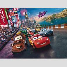 Xxl Photo Wallpaper Mural Disney Cars Lightning Mcqueen