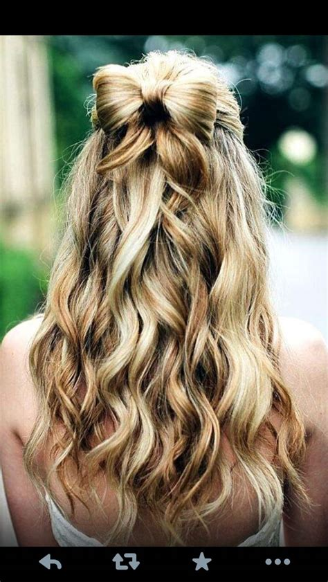 Pretty Homecoming Hairstyles by Homecoming Hairstyles Hoco Hairstyles Hair Styles