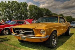 Yellow Mustang | A lovely bright yellow Ford Mustang, the ul… | Flickr
