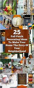 25, Fall, Porch, Decorating, Ideas, To, Make, Your, Home, The, Envy