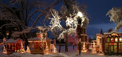 top  christmas towns  utah