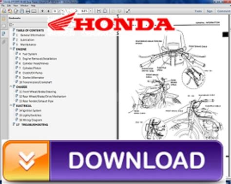 free online car repair manuals download 2007 honda civic electronic valve timing 2007 2009 honda crf150r repair service manual pdf download down