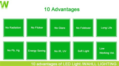led lights advantages