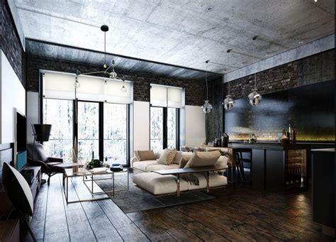 Wohnen Industrial Style by Industrial Style 3 Moderne Bachelor Wohnung Design Ideen