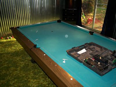 refelt pool table refelting a pool table an exact how to diy guide