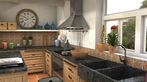 projet cuisines cocina pagnol 2 by lidiale