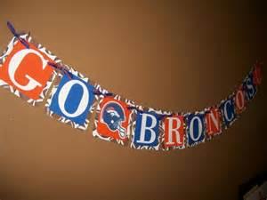 Football Denver Broncos Banner