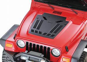 Hyline Offroad Louvered Hood Panel For 97