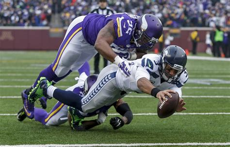 minnesota vikings  seattle seahawks week  game review