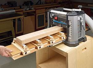 Double-Duty Planer Sled Woodsmith Plans