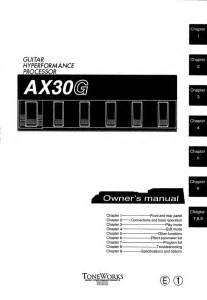 Korg Ax30g Manual Pdf