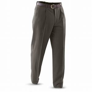 "32"" Inseam Famous Retailer 100% Wool Slacks - 170154 ..."