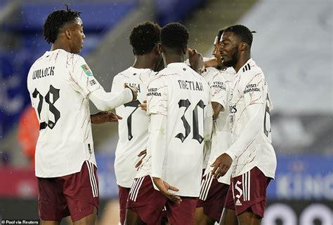 sport news Leicester 0-2 Arsenal: Christian Fuchs own goal ...