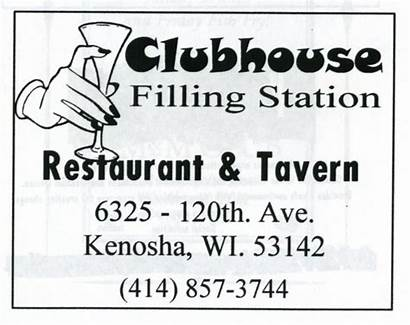 Clubhouse Filling Bars Station Advertisement 1998