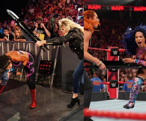 wwe raw results charlotte flair assists becky lynch