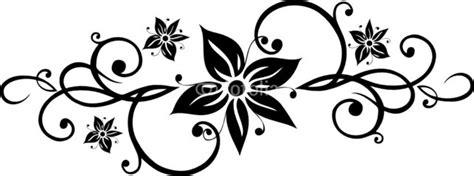 Muster Blumenranke Einfach by Blumen Wandtattoo Vorlage Prinsenvanderaa