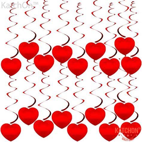 katchon hanging heart swirls decorations valentines day decorations valentines day hanging
