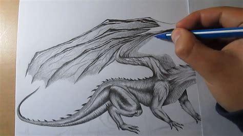 Wie Zeichnen Sie Ein Drache Realistisch Mit Bleistift