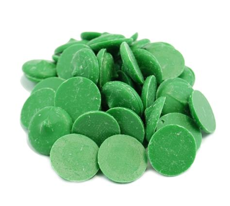 Clasen Dark Green Chocolate Wafers | Weaver Nut