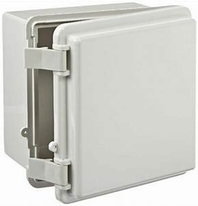 Bud Industries Style B Nema Plastic Box Electrical Enclosure Project Free Ship