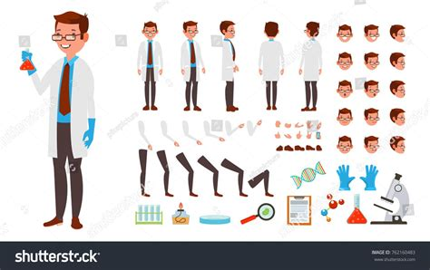 Good animation can even provide feedback on what's going today i'm going to build a simple webpage that displays a package delivery animation with a short message letting the user know. Scientist Man Vector. Animated Character Creation Set ...