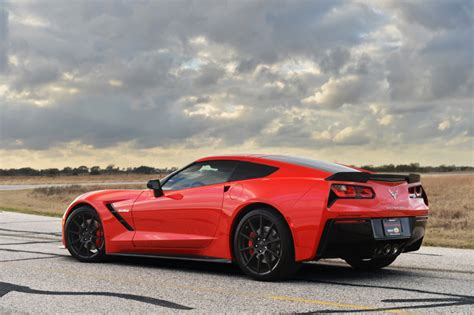 Twin Turbo Hennessey Hpe700 Corvette Stingray