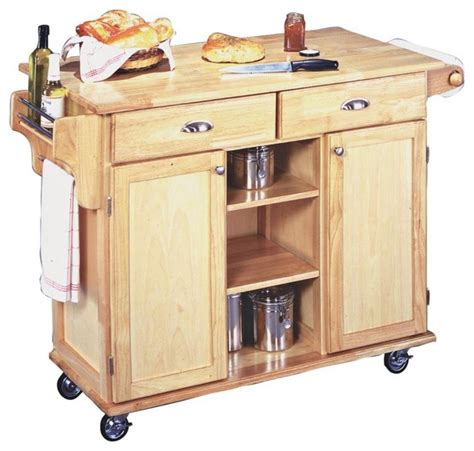 solid wood kitchen island cart country cottage napa solid wood finish rolling