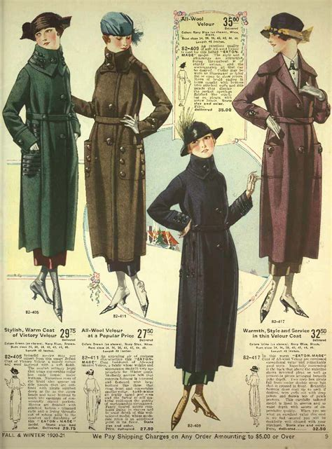 History of 1920s Coats, Furs and Capes