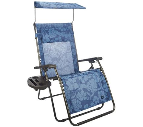 bliss hammocks deluxe xl gravity free recliner with canopy