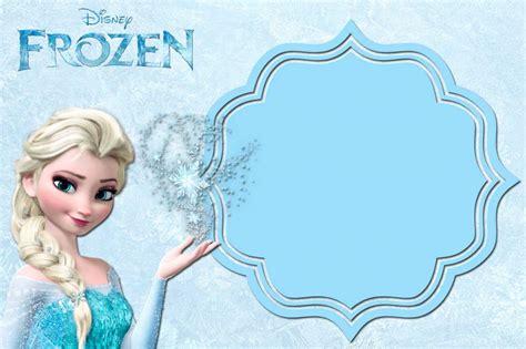 printable frozen anna  elsa invitation templates