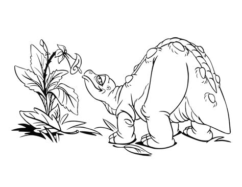 Land Before Time Coloring Pages - Costumepartyrun