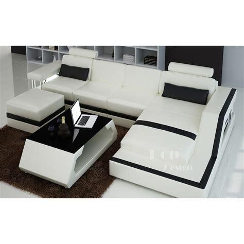 canape d angle blanc cuir petit canapé d 39 angle cuir blanc