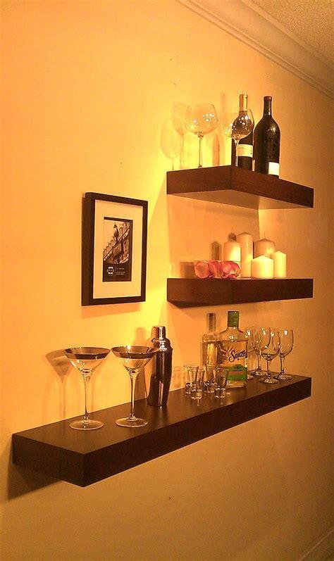 Bar Wall Shelves by Best 10 Wall Bar Ideas On