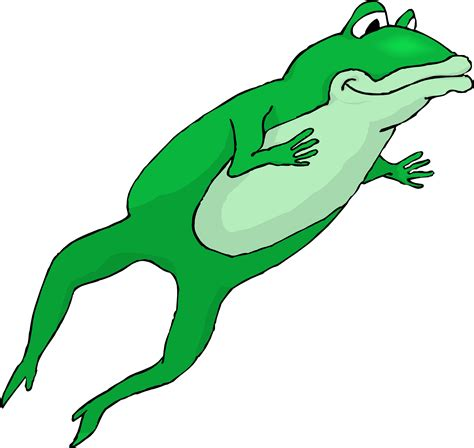 jumping frog clipart clipart suggest
