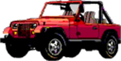 red jeep clipart free car clipart car gifs