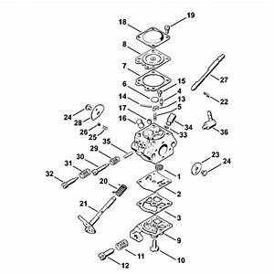 34 Stihl Fs 36 Parts Diagram