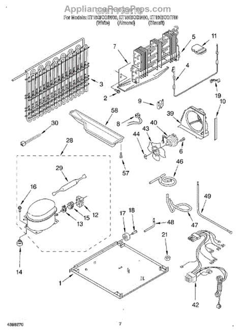Freezer Thermostat Wire Diagram 4 by Whirlpool Wp4387503 Defrost Bimetal Appliancepartspros