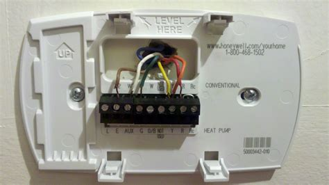 totaline thermostat wiring color code totaline free