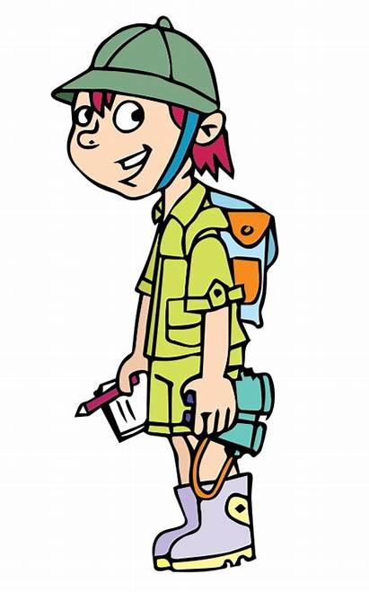 Clipart Adventure Clip Adventurer Adventurous Boy Safari