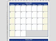 Calendario 2018 Excel « Excel Avanzado