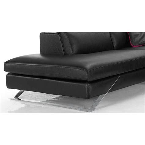 Canapé D'angle Avec Grande Méridienne Cuir Haut De Gamme Upper