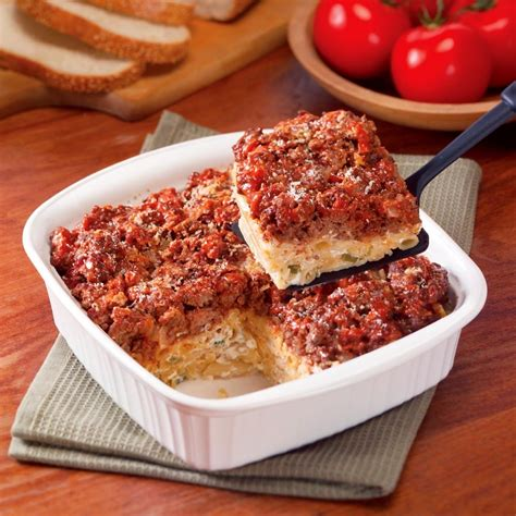 ground beef recipes baked pasta casserole ground beef