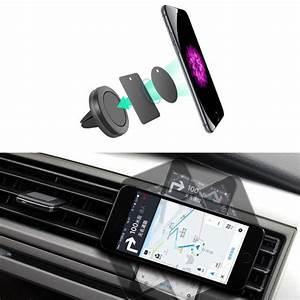 Support Aimant Telephone Voiture : support de voiture mini air vent mount aimant magn tique t l phone portable support mobile ~ Voncanada.com Idées de Décoration