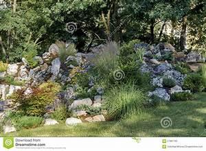 Jardin De Rocaille Photos. modele de rocaille pour jardin elegant ...