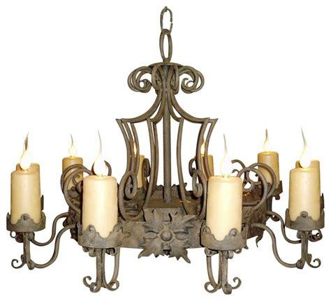 madrid 9 light large candle chandelier