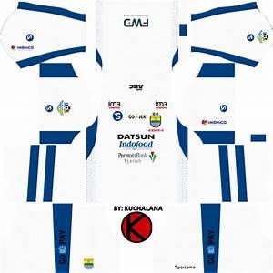 Persib Bandung Kits 2017 2018 Dream League Soccer Kuchalana