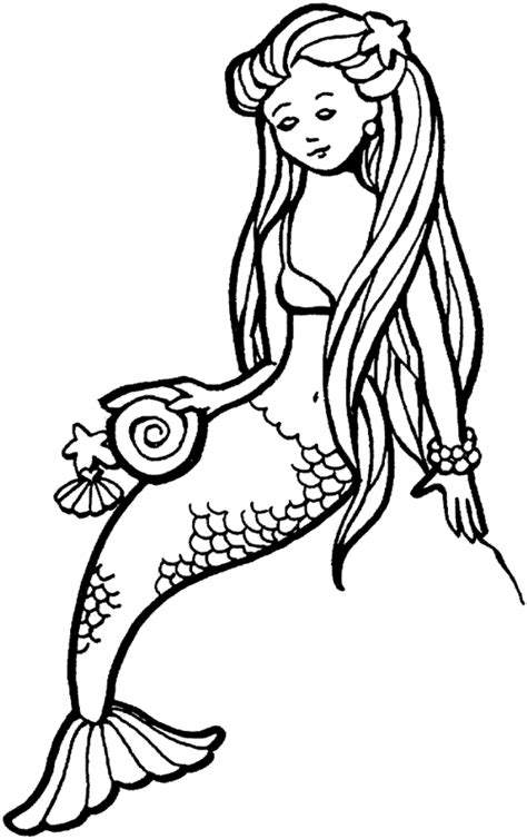 coloring  blog archive mermaid coloring pages