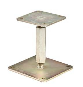 Floor Joist Support Jacks by Adjustable Steel Post Pictures To Pin On Pinterest Pinsdaddy