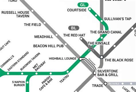 green  boston  bar map